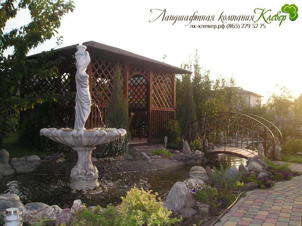 Дизайн дома двора